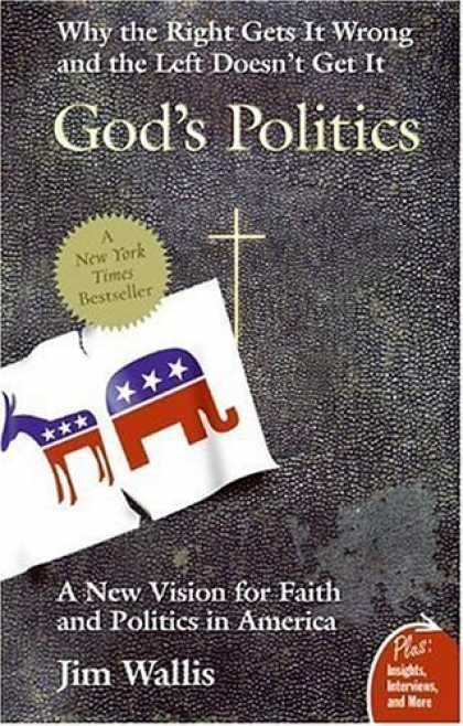 Bestsellers (2006) - God's Politics: Why the Right Gets It Wrong and the Left Doesn't Get It (Plus) b