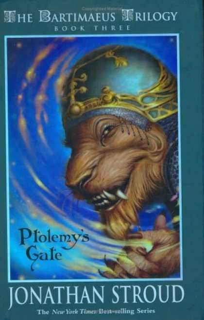 Bestsellers (2006) - Ptolemy's Gate (The Bartimaeus Trilogy, Book 3) by Jonathan Stroud