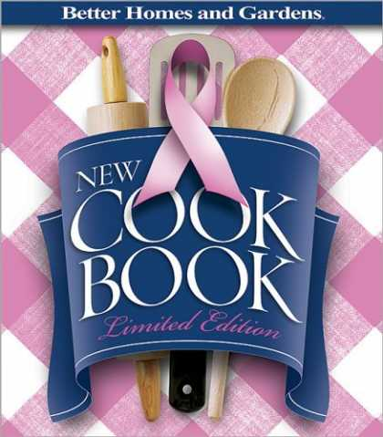 "Bestsellers (2006) - New Cook Book, Limited Edition ""Pink Plaid"" : For Breast Cancer Awareness (Bette"