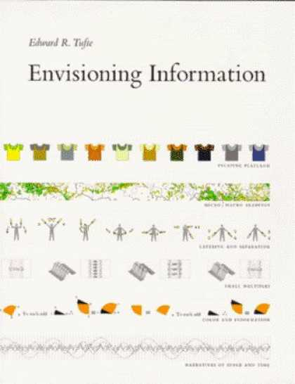 Bestsellers (2006) - Envisioning Information by Edward R. Tufte