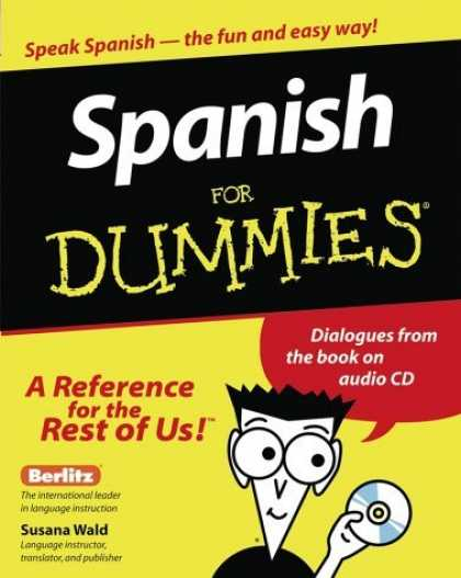 Bestsellers (2006) - Spanish for Dummies by Susana Wald