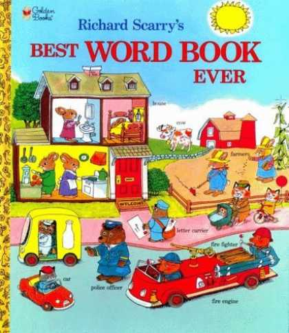 Bestsellers (2006) - Best Word Book Ever! (Giant Little Golden Book) by