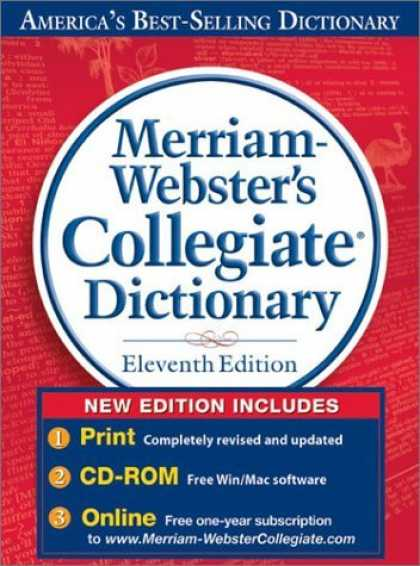 Bestsellers (2006) - Merriam-Webster's Collegiate Dictionary, 11th Edition with CD-ROM and Online Sub