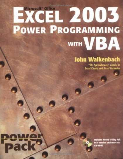 Bestsellers (2006) - Excel 2003 Power Programming with VBA (Excel Power Programming With Vba) by John