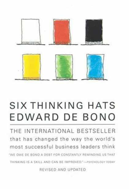 Bestsellers (2006) - Six Thinking Hats by Edward de Bono