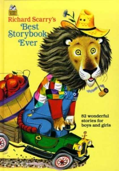 Bestsellers (2006) - Richard Scarry's Best Storybook Ever! (Giant Little Golden Book) by