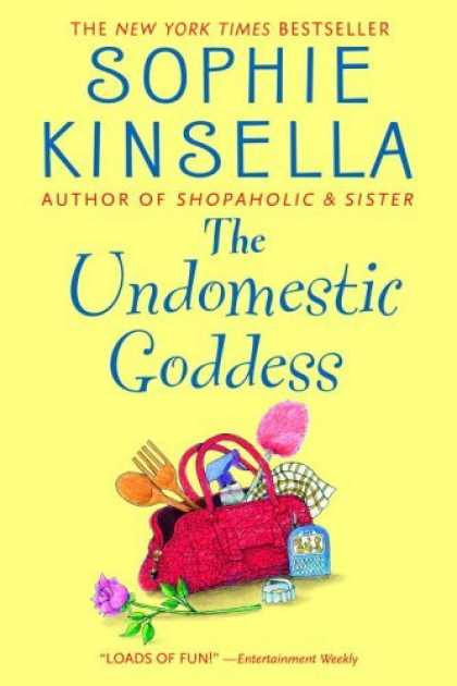 Bestsellers (2006) - The Undomestic Goddess by Sophie Kinsella