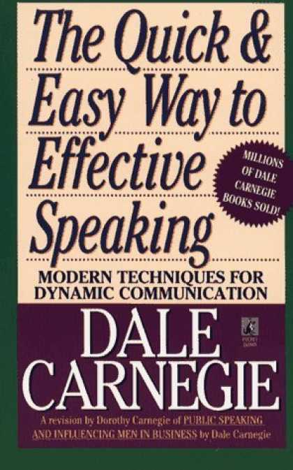 Bestsellers (2006) - The Quick and Easy Way to Effective Speaking by Dale Carnegie