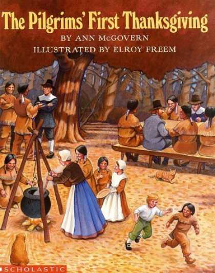 Bestsellers (2006) - Pilgrim's First Thanksgiving by Ann Mcgovern