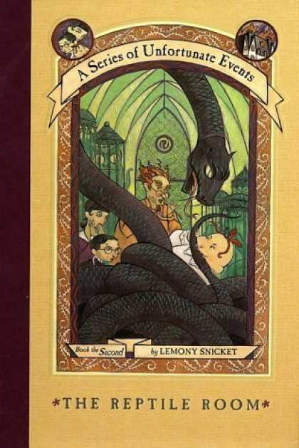 Bestsellers (2006) - The Reptile Room (A Series of Unfortunate Events, Book 2) by Lemony Snicket