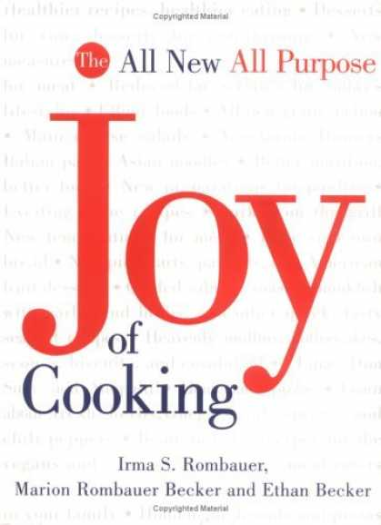 Bestsellers (2006) - The All New, All Purpose Joy of Cooking by Marion Rombauer Becker