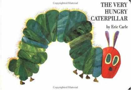 Bestsellers (2006) - The Very Hungry Caterpillar board book by Eric Carle