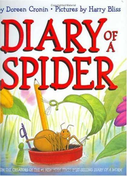 Bestsellers (2006) - Diary of a Spider by Doreen Cronin