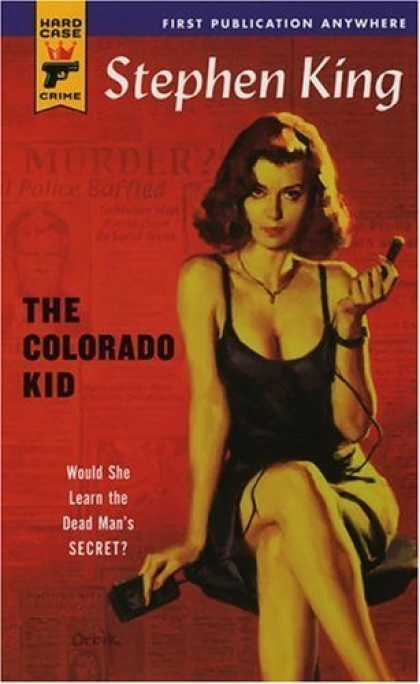 Bestsellers (2006) - The Colorado Kid (Hard Case Crime) by Stephen King