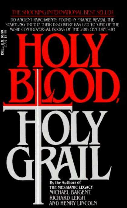 Bestsellers (2006) - Holy Blood, Holy Grail by Michael Baigent