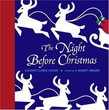 Bestsellers (2006) - The Night Before Christmas Pop-up by Clement Clarke Moore