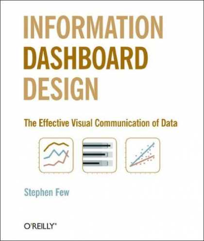 Bestsellers (2006) - Information Dashboard Design: The Effective Visual Communication of Data by Step