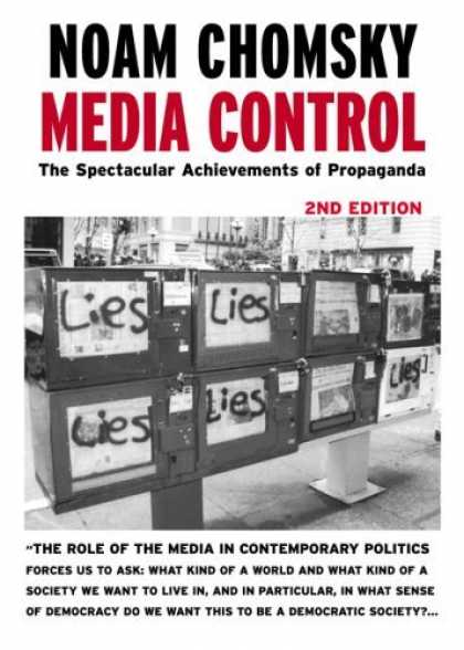 Bestsellers (2006) - Media Control, Second Edition: The Spectacular Achievements of Propaganda (Open