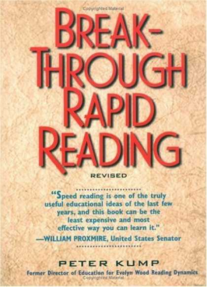 Bestsellers (2006) - Breakthrough Rapid Reading by Peter Kump