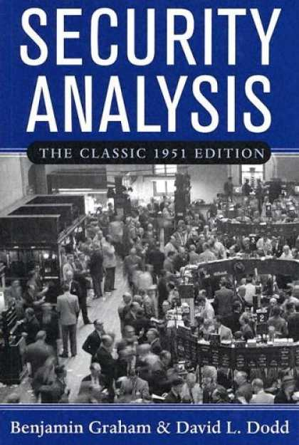 Bestsellers (2006) - Security Analysis by Benjamin Graham