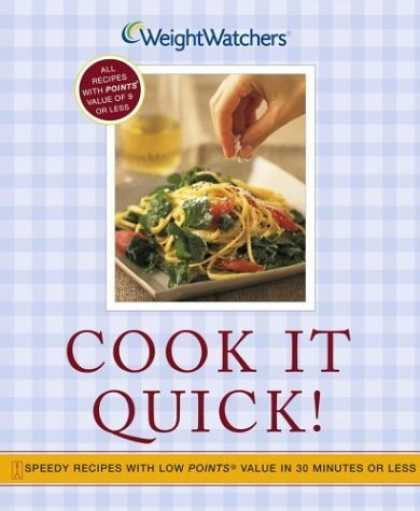 Bestsellers (2006) - Cook It Quick!: Speedy Recipes with Low POINTS Value in 30 Minutes or Less by We