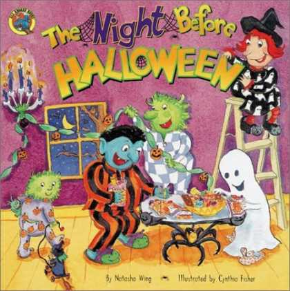 Bestsellers (2006) - The Night Before Halloween by Natasha Wing