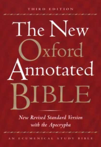 Bestsellers (2006) - The New Oxford Annotated Bible, New Revised Standard Version with the Apocrypha,