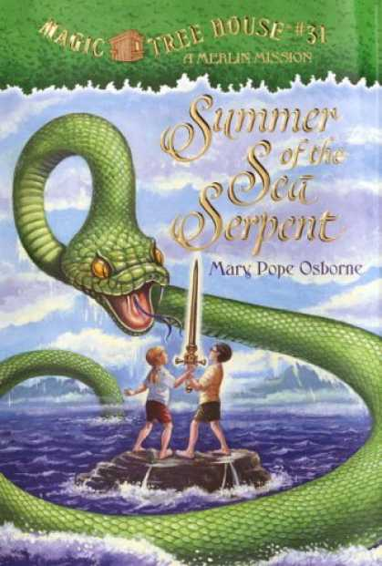 Bestsellers (2006) - Summer of the Sea Serpent (Magic Tree House #31) by Mary Pope Osborne