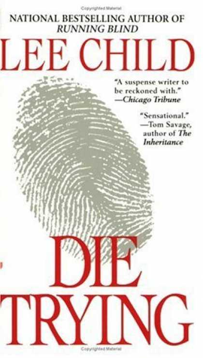 Bestsellers (2006) - Die Trying by Lee Child