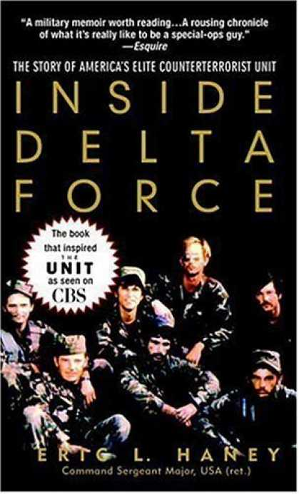 Bestsellers (2006) - Inside Delta Force: The Story of America's Elite Counterterrorist Unit by Eric H