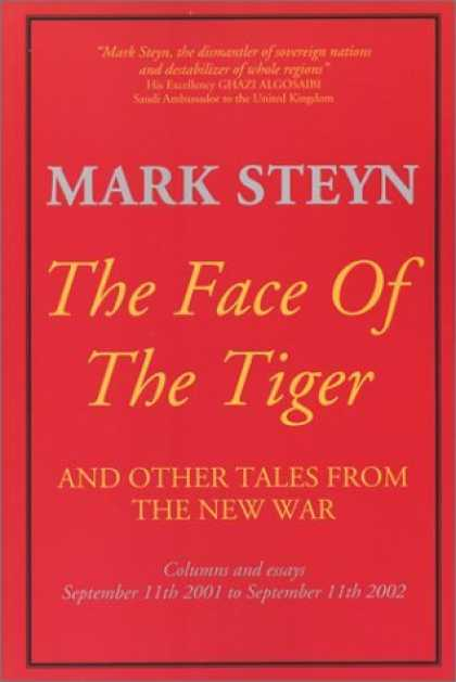 Bestsellers (2006) - The Face of the Tiger by Mark Steyn
