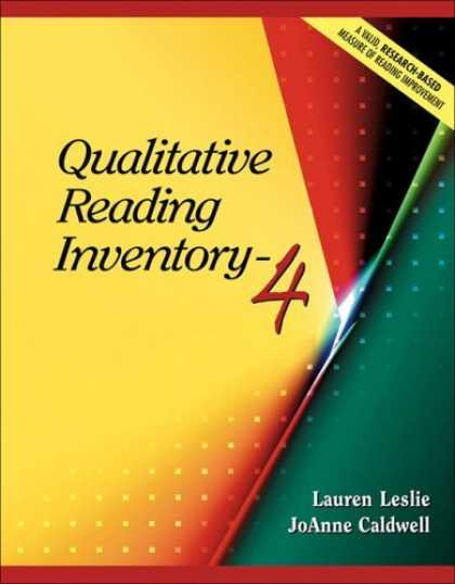 Bestsellers (2006) - Qualitative Reading Inventory-4 (4th Edition) by Lauren Leslie