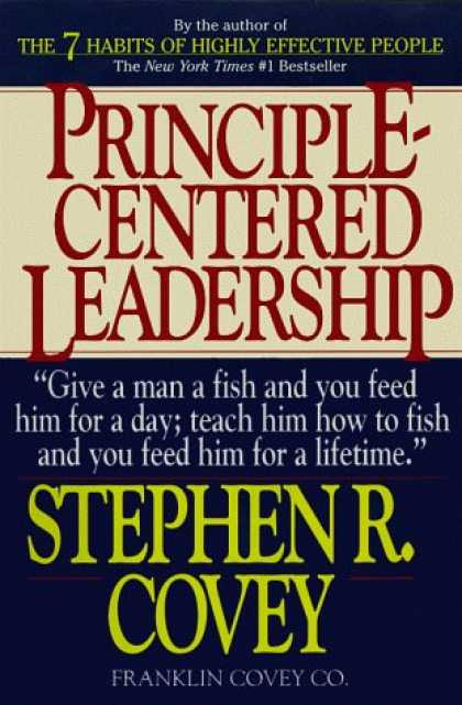 Bestsellers (2006) - Principle Centered Leadership by Stephen R. Covey