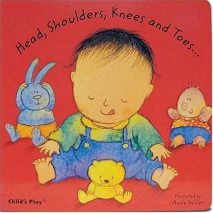 Bestsellers (2006) - Head, Shoulders, Knees and Toes (Baby Board Books) by