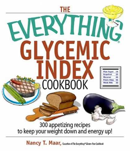 Bestsellers (2006) - The Everything Glycemic Index Cookbook: 300 Appetizing Recipes to Keep Your Weig