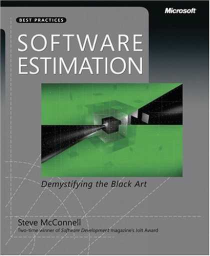 Bestsellers (2006) - Software Estimation: Demystifying the Black Art (Best Practices (Microsoft)) by