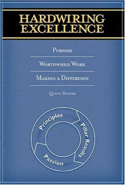 Bestsellers (2006) - Hardwiring Excellence: Purpose, Worthwhile Work, Making a Difference by Quint St