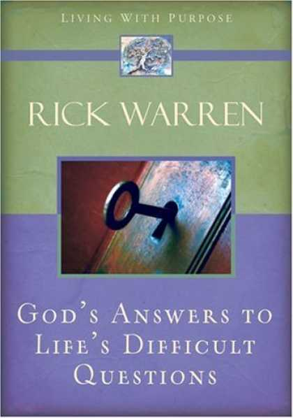 Bestsellers (2006) - God's Answers to Life's Difficult Questions (Living with Purpose) by Rick Warren