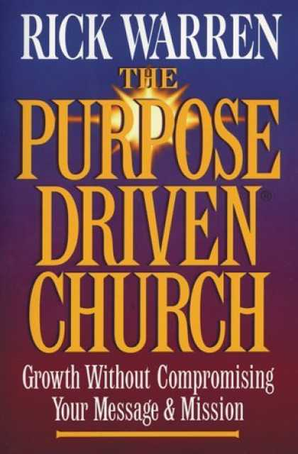 Bestsellers (2006) - The Purpose-Driven Church by Rick Warren