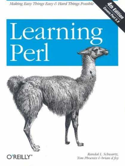 Bestsellers (2006) - Learning Perl, Fourth Edition by Randal L. Schwartz