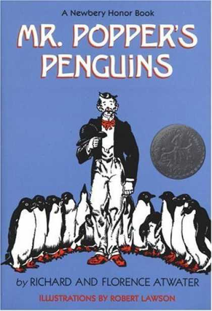 Bestsellers (2006) - Mr. Popper's Penguins by Richard Atwater