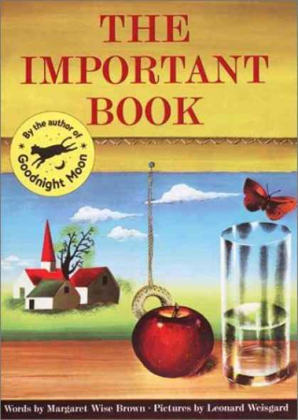 Bestsellers (2006) - The Important Book by Margaret Wise Brown