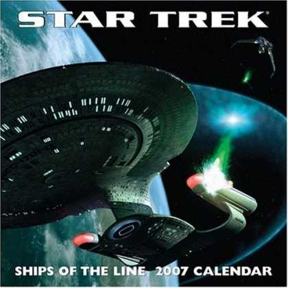 Bestsellers (2006) - Star Trek Ships of the Line: 2007 Wall Calendar by Andrews McMeel Publishing