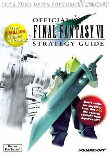 Bestsellers (2006) - Official Final Fantasy VII Strategy Guide by David Cassady