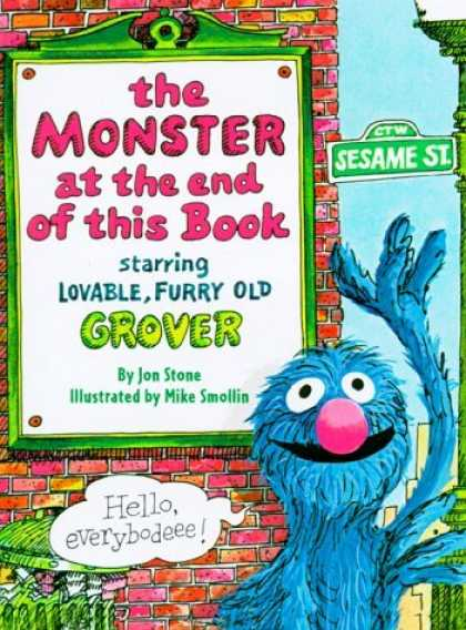 Bestsellers (2006) - The Monster at the End of This Book (Big Bird's Favorites Brd Bks) by Jon Stone