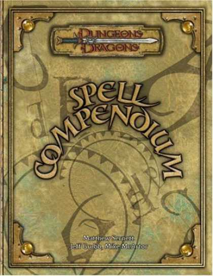 Bestsellers (2006) - Spell Compendium (Dungeons & Dragons Supplement) by Matthew Sernett