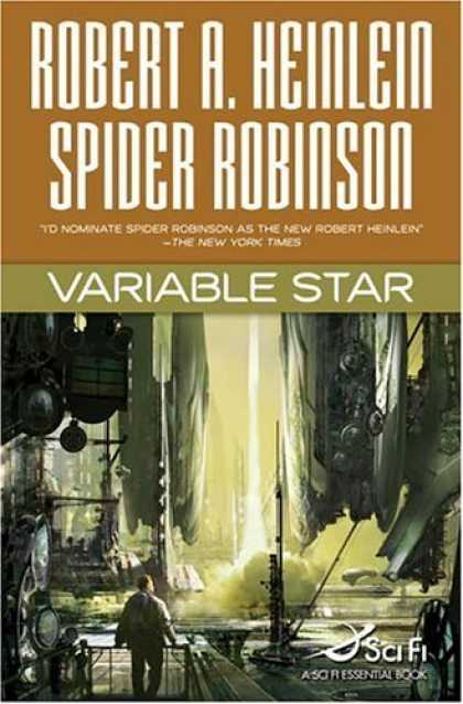 Bestsellers (2006) - Variable Star by Robert A. Heinlein