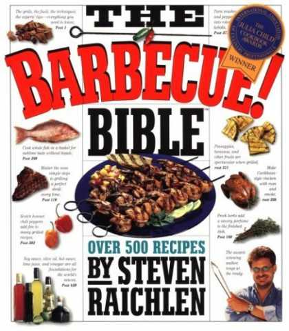 Bestsellers (2006) - The Barbecue! Bible by Steven Raichlen