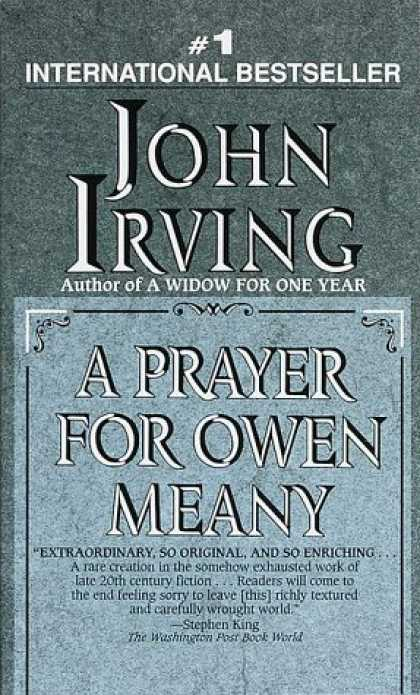Bestsellers (2006) - A Prayer for Owen Meany by John Irving