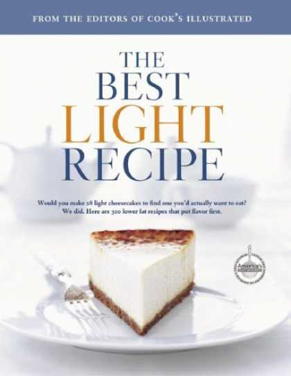 Bestsellers (2006) - The Best Light Recipe (The Best Recipe) by